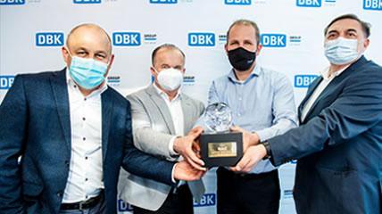 Grupa DBK najlepszym dealerem pojazdów używanych DAF w Europie