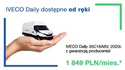 IVECO Daily z ratą na 48 m-cy